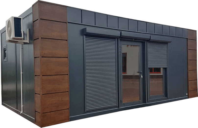 kontenery pawilony handlowe